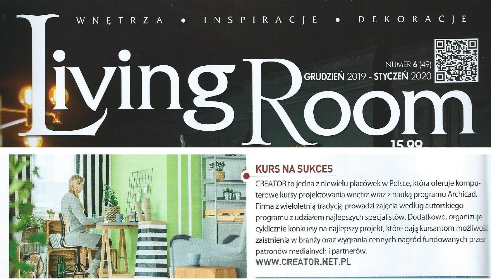 Living room kurs Creator